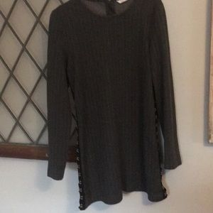 ZARA Trafaiuc Collection size Small grey dress